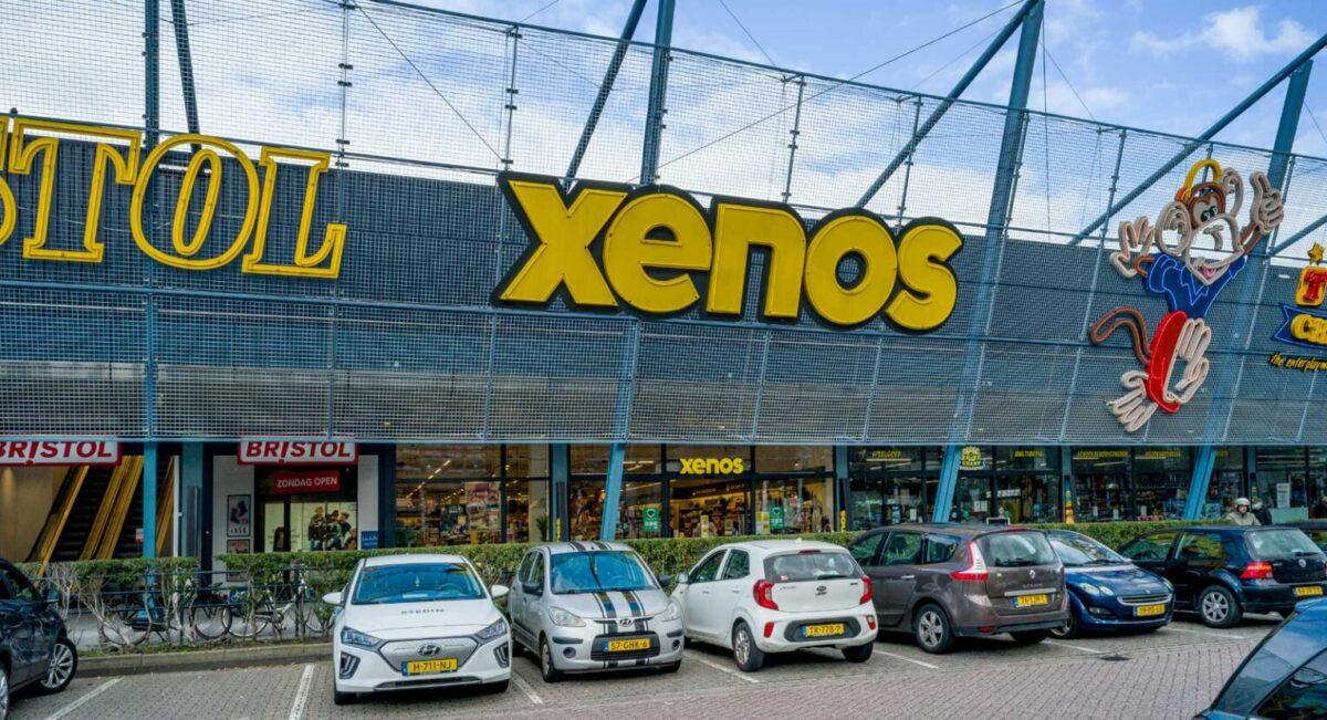 Winkelpand Xenos Rotterdam door Martinu voorzien van complete elektrische installatie